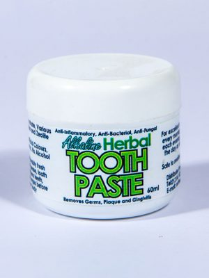 Alkaline Herbal Toothpaste